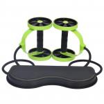 6合1 家用雙輪拉力器健腹輪 | 多功力拉力帶 家中健身室 瘦身神器 阻力彈力帶