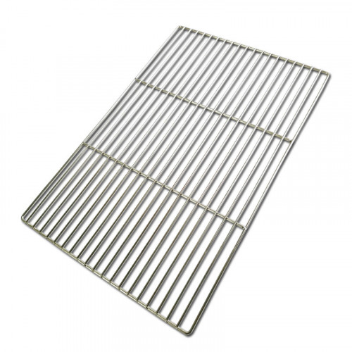 BBQ 不銹鋼烤網網架 (45*30CM)   可清新重用 長方形加粗燒烤烤網