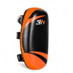 BN 泰拳拳擊訓練腳靶 | 橢圓形拳擊靶 (單隻) - 橙黑色