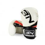 BN 6OZ 兒童泰拳拳擊訓練拳套 | 小童拳套 - 白色