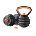FED 40KG三合一壺鈴啞鈴槓鈴套裝 | 家用健身訓練重訓