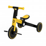 Uonibaby 三合一兒童滑步平衡車單車 - 黃色|滑步車|推行車
