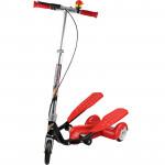 兒童三輪雙腳踏滑板車 - 紅色| 承重75KG