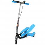兒童三輪雙腳踏滑板車 - 藍色 | 承重75KG