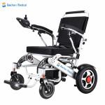 Baichen Medical EA6016 可摺疊電動輪椅   老人助行車   全自動電磁剎車二合一手動/電動輪椅
