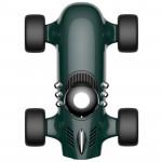 創意F1賽車擺件車用空氣淨化器 | 香氛空氣清新機 - 綠色