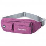 AONIJIE 戶外運動腰包 | 騎行登山跑步手機腰包 - 紫色