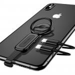 USAMS 雙Lightning接頭指環扣   iPhone Ipad 音頻和充電可同時進行
