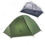 Naturehike CloudUp3 雲尚3 20D矽膠三人帳篷 (NH18T030-T) | 超輕防暴雨- 森林綠色