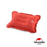 Naturehike 輕量便攜折疊式麂皮絨充氣枕頭 (NH15A001-L) | 露營充氣枕 - 橙色