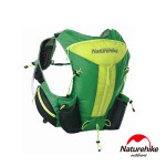 Naturehike 12L輕量化背心式越野跑步後背包 (NH70B067-B) | 行山跑山水袋包  - 綠色
