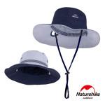 Naturehike HT10戶外高防曬透氣雙面戴漁夫帽 (NH19H010-T) | 速乾休閒遮陽帽 附收納袋  - 藍色