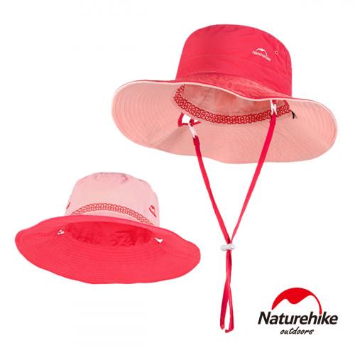 Naturehike HT10戶外高防曬透氣雙面戴漁夫帽 (NH19H010-T) | 速乾休閒遮陽帽 附收納袋  - 桃粉色