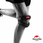 Naturehike 雙重防護加壓減震髕骨帶男款 (NH20HJ009) | 運動護套 單只入  - 男款黑色
