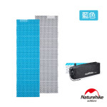 Naturehike 單人耐壓蛋巢型摺疊睡墊防潮墊 (NH20FCD07) | 2.5cm加厚款 附收納袋 - 藍色
