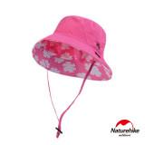 Naturehike 薄款透氣防曬漁夫帽 (NH12M013-Z)   戶外遮陽帽   - 粉紅色