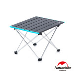 Naturehike FT08加大款可捲式露營摺疊桌 (NH19Z008-Z) | 極輕量鋁合金蛋捲桌 - 大碼灰色