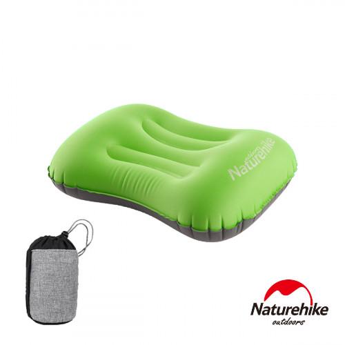 Naturehike 按壓式超輕便攜戶外旅行充氣睡枕靠枕 (NH18B020-T) - 綠色