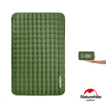 Naturehike 舒適雙人輕量TPU充氣睡墊 (NH19QD010) | 加厚加寬地墊防潮墊 - 綠色
