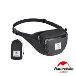 Naturehike 6L雲雁超輕量防潑水摺疊運動腰包 (NH18B300-B) | 便攜跑步包  - 黑色