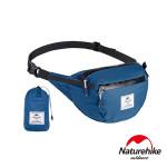 Naturehike 6L雲雁超輕量防潑水摺疊運動腰包 (NH18B300-B) | 便攜跑步包  - 藍色