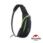 Naturehike 6L多功能防水單肩斜背包 (NH23X008-K) | 運動胸前包  - 黑色