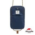 Naturehike 頸掛式防水旅行護照證件收納包 (NH17X010-B) - 藍色