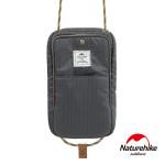 Naturehike 頸掛式防水旅行護照證件收納包 (NH17X010-B) - 灰色
