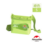 Naturehike 細碼清漾可透視無縫防水袋 (NH17F001-S) | 隨身水上活動收納袋漂流袋 - 綠色