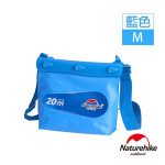 Naturehike 中碼清漾可透視無縫防水袋 (NH17F001-M) | 隨身水上活動收納袋漂流袋 - 藍色
