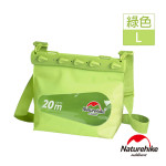 Naturehike 大碼清漾可透視無縫防水袋 (NH17F001-L) | 隨身水上活動收納袋漂流袋 - 綠色