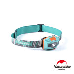 Naturehike 輕便防水USB充電四段式LED頭燈 (NH00T002-D) | 夜間露營行山必備 - 藍色