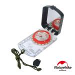 Naturehike 多功能夜光帶燈指南針 (NH15A003-E) | 行山露營指北針 地質羅盤儀