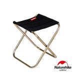 Naturehike L012超輕量便攜收納鋁合金摺疊椅 (NH17Z012-L) | 戶外迷你釣魚椅  - 黑色