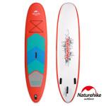 Naturehike 大號高強度充氣式直立板  (NH17J001-B) | SUP滑水衝浪板 附划槳 - 紅色