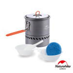 Naturehike 1.5L戶外便攜鋁合金集熱快煮野營套鍋組合 (NH15T216-G)