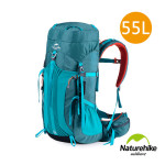 Naturehike 55+5L雲徑重裝露營背囊 行山背包 (NH16Y020-Q) | 大容量自助旅行背包 - 藍色