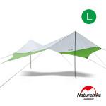 Naturehike 旭日210T六角天幕附帳桿L號 (NH16T013-S) | 抗紫外線防水遮陽炊事帳 - 綠色