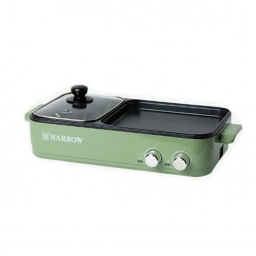 Harrow HT-GH1200 二合一燒烤兩用鍋 | 多功能涮烤一體電燒烤爐 火鍋韓燒爐 | 香港行貨
