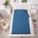 超輕睡袋成人韓棉便攜式睡袋 (中款) - 115x210cm | 旅行酒店用 - 藍色中款