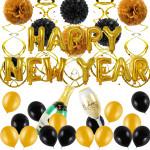新年派對裝飾用品氣球套裝