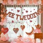 浪漫婚房臥室裝飾氣球組合套裝