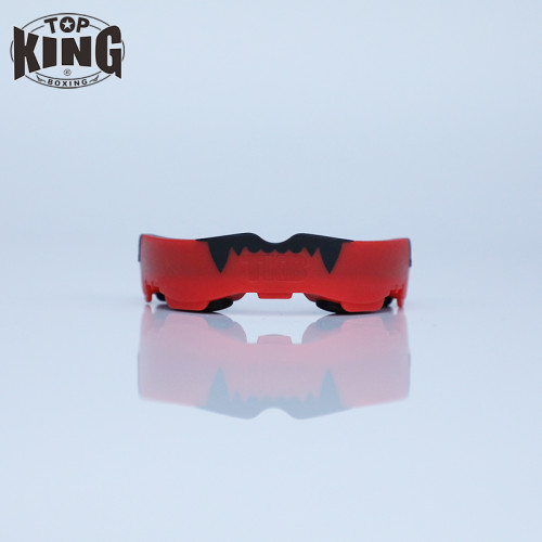 TOP KING TKB 三層拳擊專用牙膠 - 紅黑色