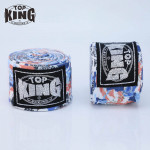 TOP KING TKB 3.5米印花拳擊保護手帶 - 虎頭