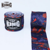 TOP KING TKB 3.5米印花拳擊保護手帶 - 牛頭