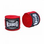 TOP KING TKB 5米淨色拳擊保護手帶 - 紅色