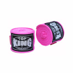 TOP KING TKB 5米淨色拳擊保護手帶 - 粉紅色