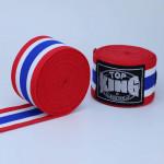 TOP KING TKB 5米淨色拳擊保護手帶 - 泰國國旗款