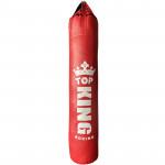 TOP KING 懸掛式真超纖香蕉型拳擊訓練沙包 - 紅色