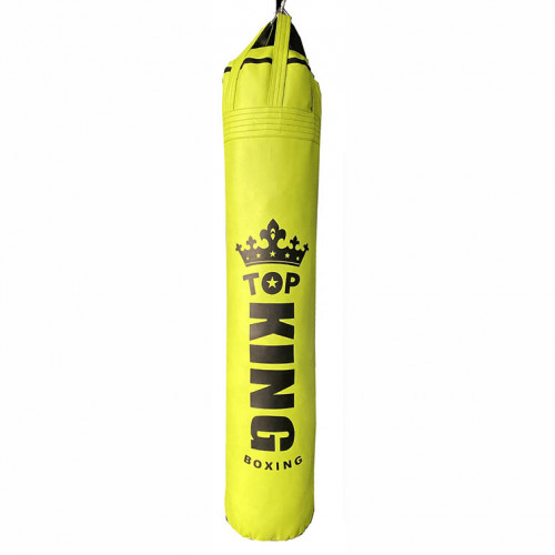 TOP KING 懸掛式真超纖香蕉型拳擊訓練沙包 - 黃色